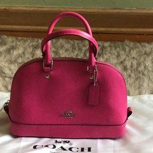 Coach Mini Sierra Hot Pink